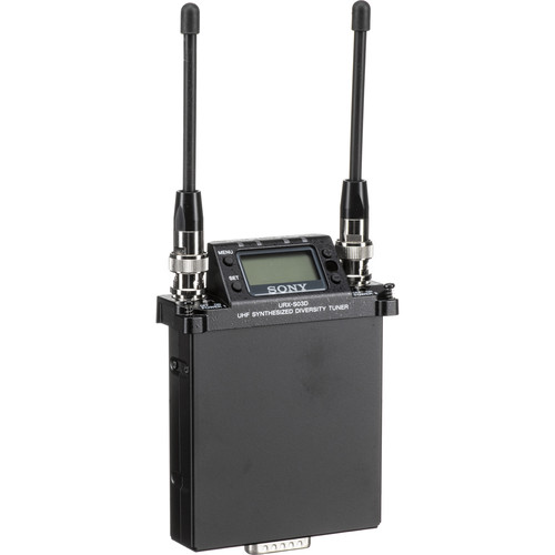 Sony URX-S03D UWP-D Dual-Channel Slot-In Wireless Receiver (UC14: 470 to 542 MHz)