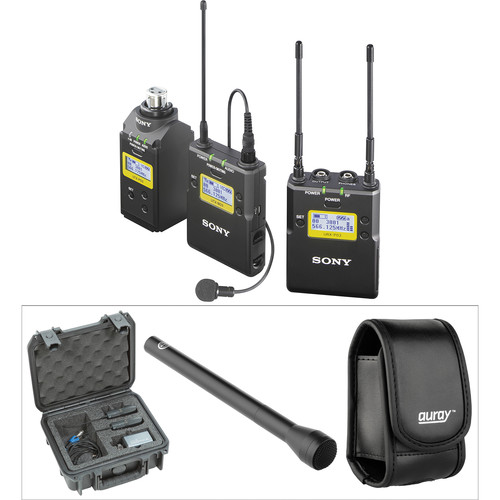 Sony UWP-D16 Integrated Digital Wireless ENG Basic Kit (UHF Channels 30/36 and 38/41: 566 to 614 and 614 to 638 MHz)