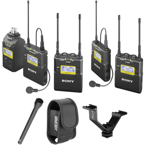 Sony UWP-D16 UHF Dual Wireless ENG Basic Kit (Ch 25/36: 536 to 608 MHz)