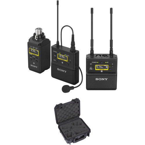 Sony UWP-D26 Camera-Mount Wireless Combo Microphone System Kit with Case (UC90: 941 to 960 MHz)