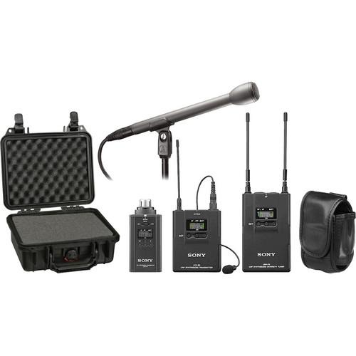 Sony UWP-V6 Wireless ENG Basic Kit (42/44 - 638 to 662MHz)