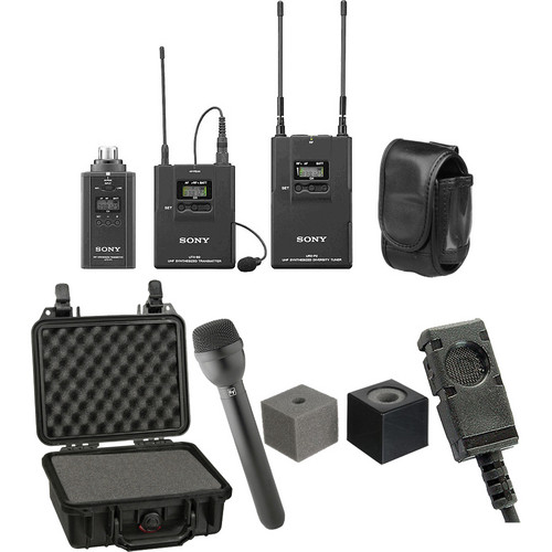 Sony UWP-V6 ENG Wireless Deluxe Kit (30/32 - 566 to 590MHz)