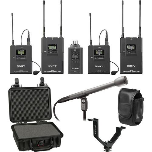 Sony UWP-V6 Dual Wireless ENG Basic Kit (30/32 - 566 to 590MHz)