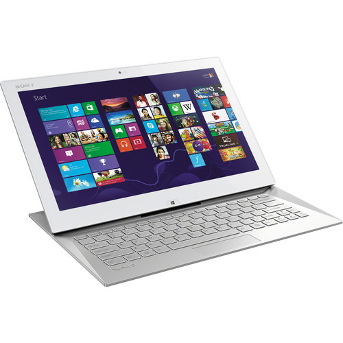 "Sony VAIO Duo 13 SVD13213CXW 13.3"" Multi-Touch Ultrabook Computer (Carbon White)"