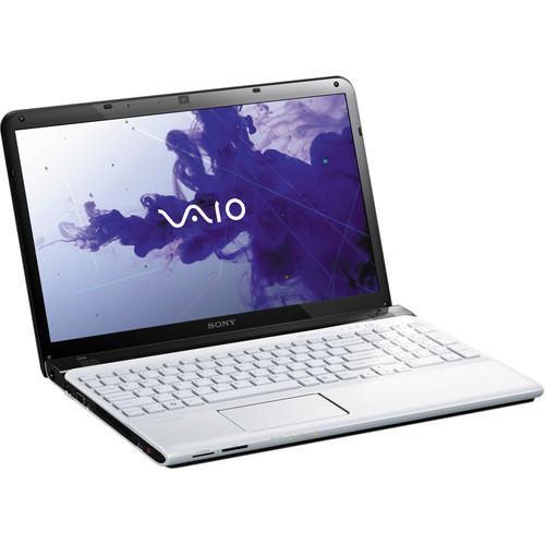 "Sony VAIO E Series 15 SVE1513JCXW 15.5"" Notebook Computer (Seafoam White)"