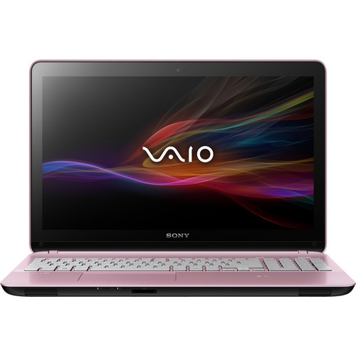 "Sony VAIO Fit 15E SVF15213CXP 15.5"" Multi-Touch Notebook Computer (Pink)"