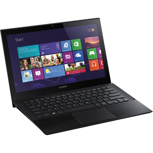 "Sony VAIO Pro 11 SVP11216PXB 11.6"" Multi-Touch Ultrabook Computer (Carbon Black)"
