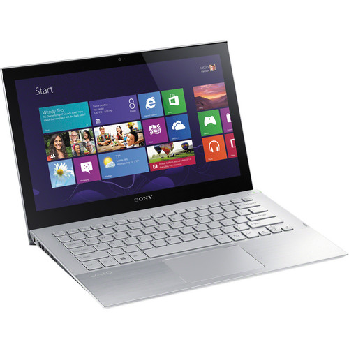 "Sony VAIO Pro 13 SVP13215PXS 13.3"" Multi-Touch Ultrabook Computer (Carbon Silver)"