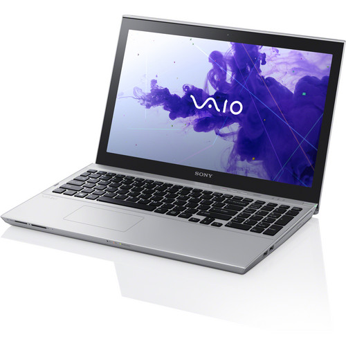 "Sony VAIO T15 SVT15114CXS 15.5"" Multi-Touch Ultrabook Computer (Silver)"