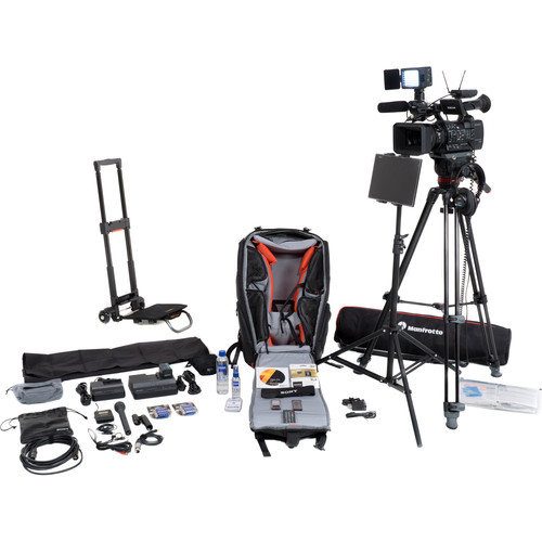 sony vjbk2thx180 video journalist backpack vjbk2thx180 b h photo. Black Bedroom Furniture Sets. Home Design Ideas