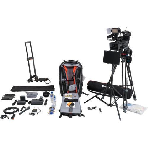Sony VJBK2THX200 Video Journalist Backpack with Trolley