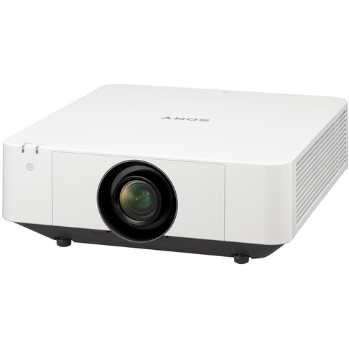 Sony VPL-FHZ65 6000-Lumen 3LCD Laser Light Source Projector (White)