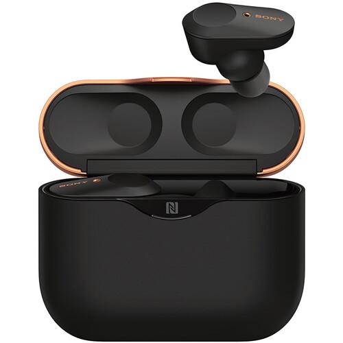 Sony WF-1000XM3 True Wireless Noise-Canceling In-Ear Earphones (Black)