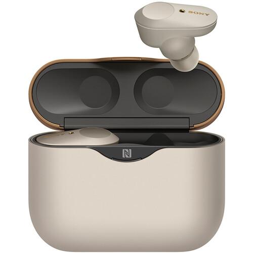 Sony WF-1000XM3 True Wireless Noise-Canceling In-Ear Earphones (Silver)