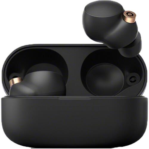 Sony WF-1000XM4 Noise-Canceling True Wireless In-Ear Headphones (Black)
