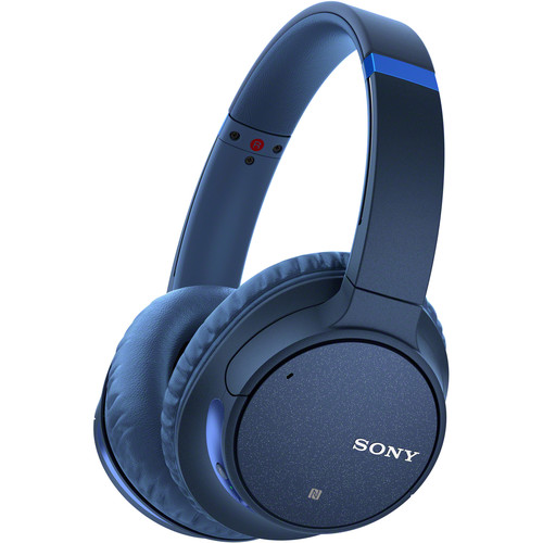 Sony WH-CH700N Wireless Noise-Canceling Over-Ear Headphones (Blue)