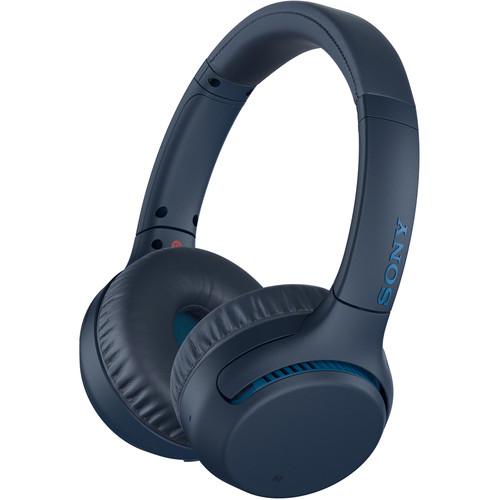 Sony WH-XB700 EXTRA BASS Wireless On-Ear Headphones (Blue)