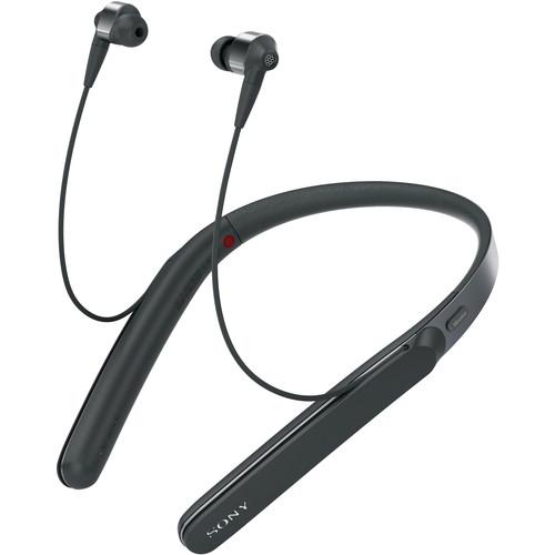 Sony WI-1000X Wireless Noise-Canceling Headphones (Black)
