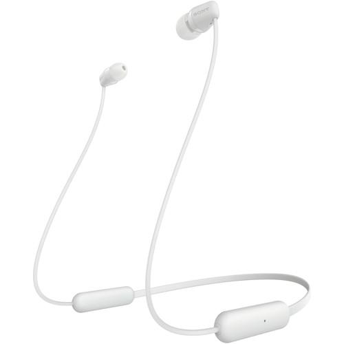 Sony WI-C200 Wireless In-Ear Earphones (White)