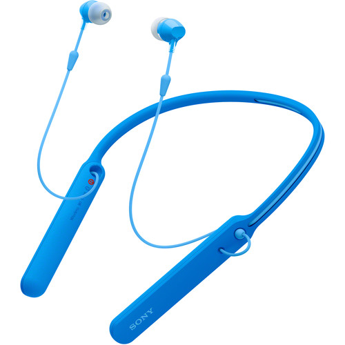 Sony WI-C400 Wireless Headphones (Blue)