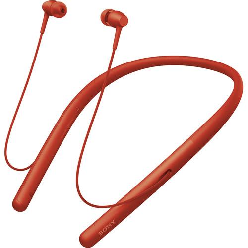 Sony WI-H700 h.ear in 2 Wireless Headphones (Twilight Red)