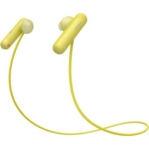 Sony WI-SP500 Wireless In-Ear Sports Headphones (Yellow)