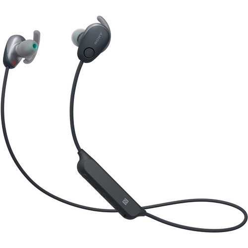 Sony WI-SP600N Wireless Noise-Canceling In-Ear Sports Headphones (Black)