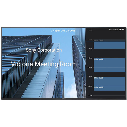 Sony WQBM1 Interactive Meeting and Display Management Solution for 4K Professional Displays
