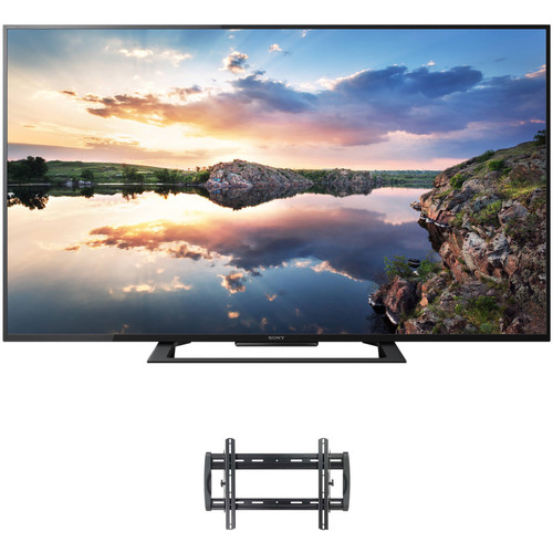 """Sony X690E-Series 60""""-Class HDR UHD Smart LED TV and Tilting Wall Mount Kit"""