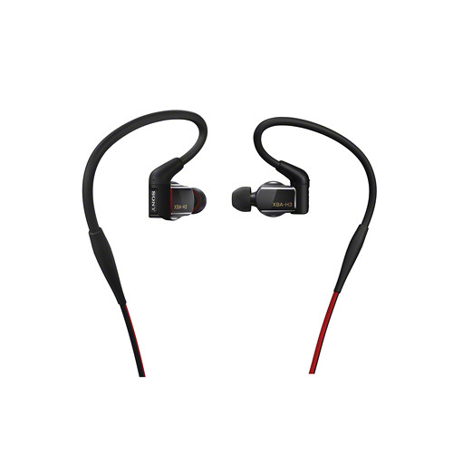 Sony XBA-H3 Hybrid 3-Way In-Ear Headphones