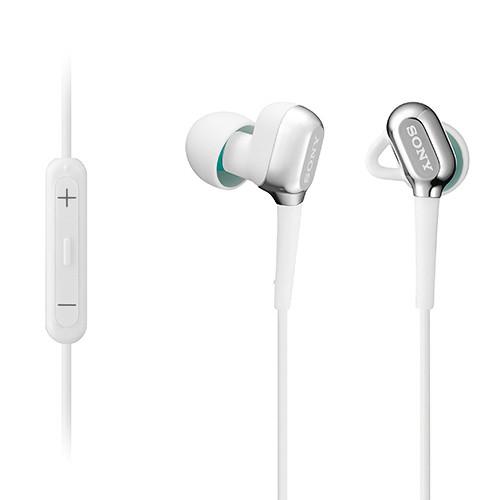 Sony XBA-C10IP Balanced Armature Headphones with iOS Remote (White)