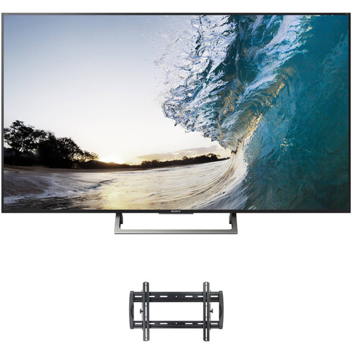 "Sony XBR-X850E-Series 75""-Class HDR UHD Smart LED TV and Tilting Wall Mount Kit"