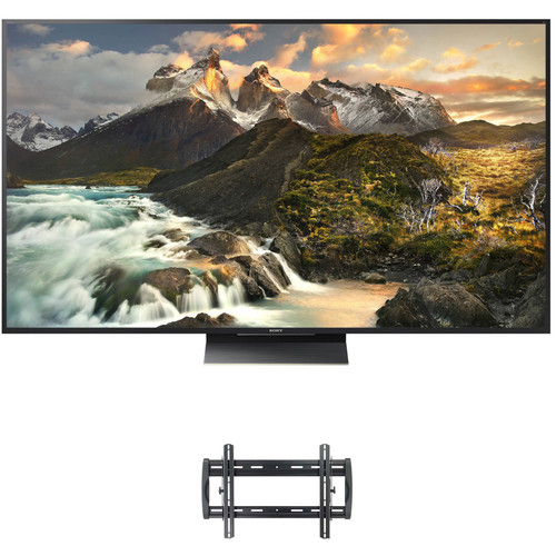 """Sony XBR-Z9D-Series 75""""-Class 4K Smart LED TV and Tilting Wall Mount Kit"""