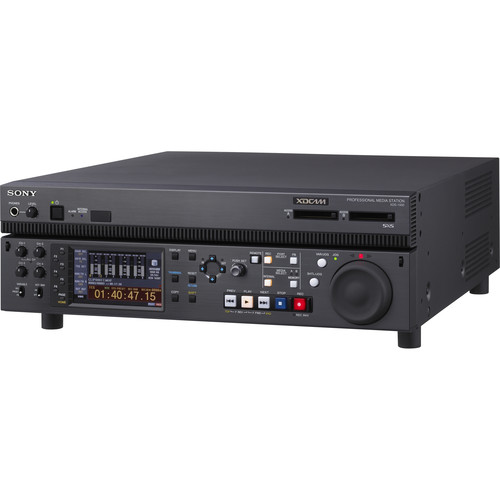 Sony XDCAM Deck / IT Server with two SxS Memory Slots and 1TB HDD
