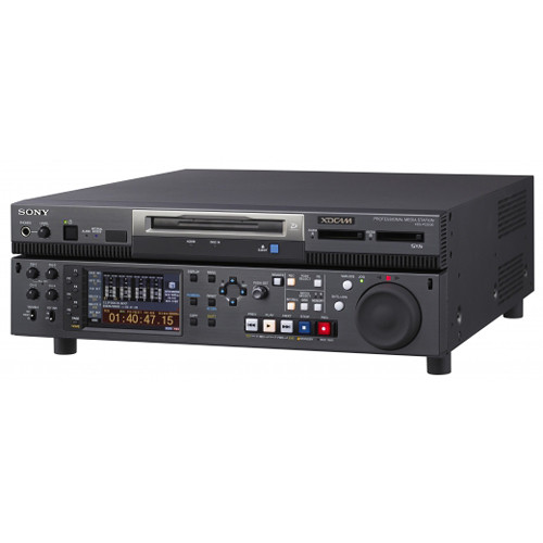 Sony XDCAM Deck / IT Server with two SxS Memory Slots, Professional Disc Drive and 500GB SSD