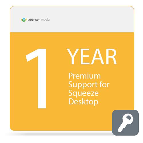 Sorenson Media Premium Support for Squeeze Desktop (1 Year)