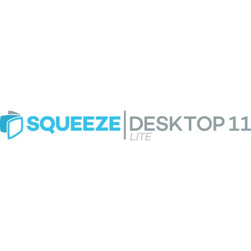 Sorenson Media Squeeze Desktop 11 Lite - Edu/Gov't/Non-Profit (Upgrade from Squeeze 10 Lite, Download)