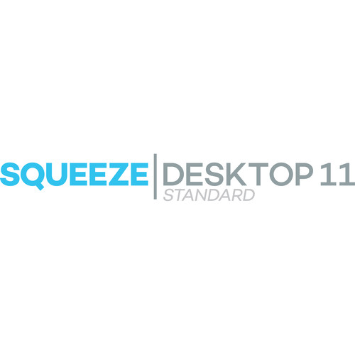 Sorenson Media Squeeze Desktop 11 Standard - Edu/Gov't/Non-Profit (Upgrade from Squeeze 7 and Older, Hard Copy)