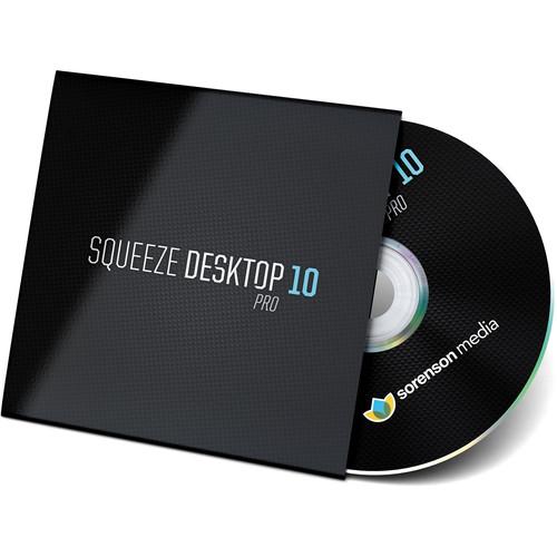 Sorenson Media Squeeze Desktop 10 Pro (Upgrade from 9 Pro,Download)