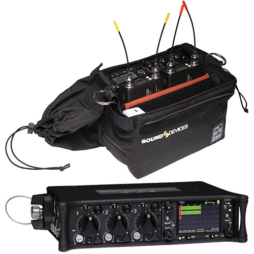Sound Devices 633 6-Input Field Production Mixer/Recorder with Case Kit
