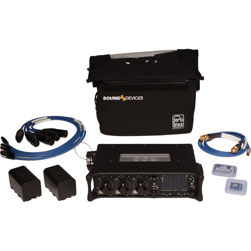 Sound Devices 633 Compact Field Mixer Kit with Carrying Case