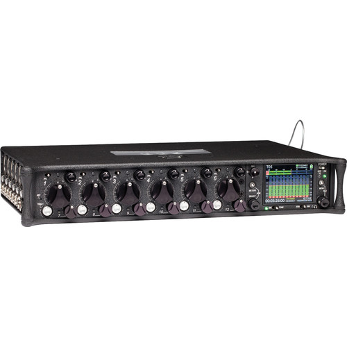 Sound Devices 688 12-Input Field Production Mixer and 16-Track Recorder