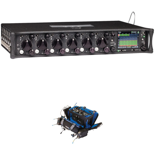 Sound Devices 688 12-Input Field-Production Mixer Kit with Orca OR-34 Audio / Mixer Bag