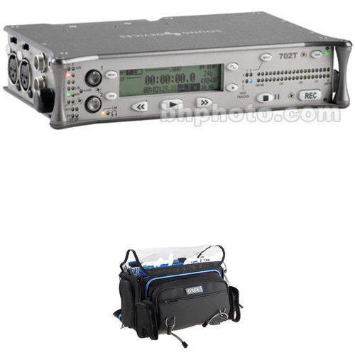Sound Devices 702T High-Resolution CompactFlash Field Recorder with OR-41 Bag Kit