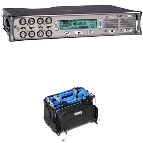 Sound Devices 788T-SSD 8-Input/12-Track Field Recorder with OR-32 Bag Kit