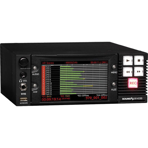 Sound Devices 970: 64-Track Dante And MADI Audio Recorder
