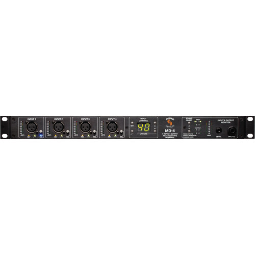 Sound Devices MD-4 4x4 Analog to Dante Interface