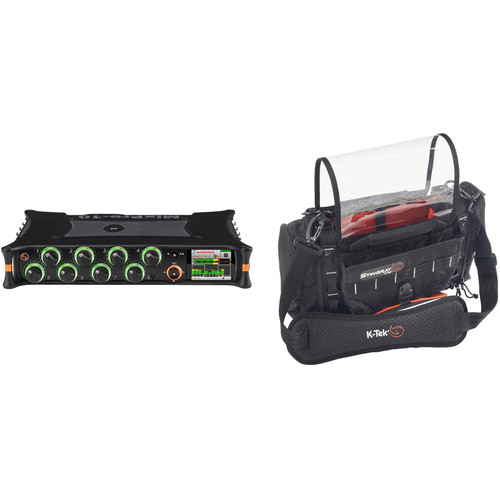 Sound Devices MixPre-10M 12-Track Audio Recorder and Stingray Bag Kit