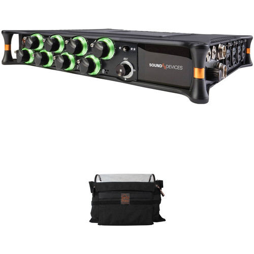 Sound Devices MixPre-10T Audio Recorder and Porta Brace Carrying Case Kit