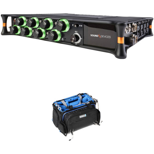 Sound Devices MixPre-10T Multi-Channel Audio Recorder and ORCA OR-32 Audio Bag Kit